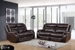 KD sofa set with  5 manual recliner