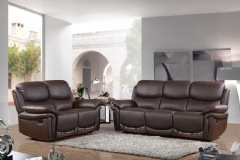 Leather recliner lovesofa
